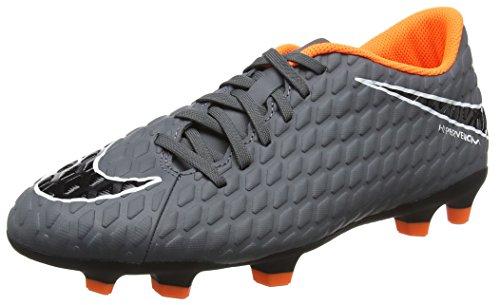 Nike Herren Hypervenom Phantom 3 Club FG AH7267 Fitnessschuhe, Mehrfarbig Dark Grey Total Oran 081, 40.5 EU