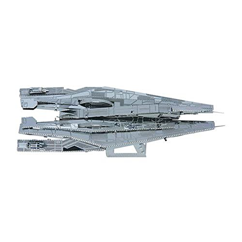 Fascinations Metal Earth MMS313 - 502691, Mass Effect Alliance Cruiser, Konstruktionsspielzeug, 1 Metallplatine, ab 14 Jahren