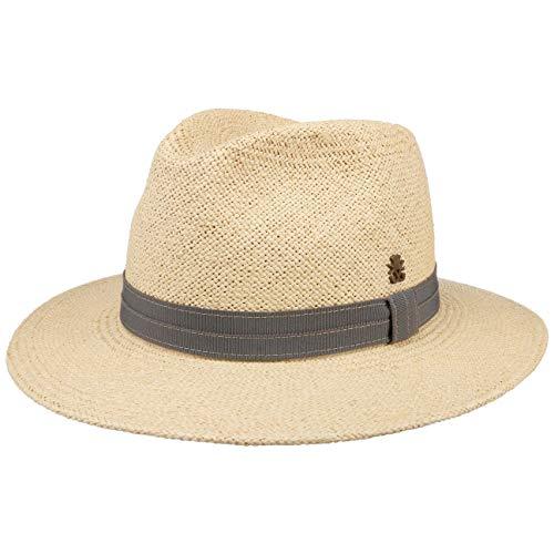 Chapeau Andrew Farmer Panama Mayser Chapeau de Paille Panama Chapeaux d´ete (56 cm - Nature)