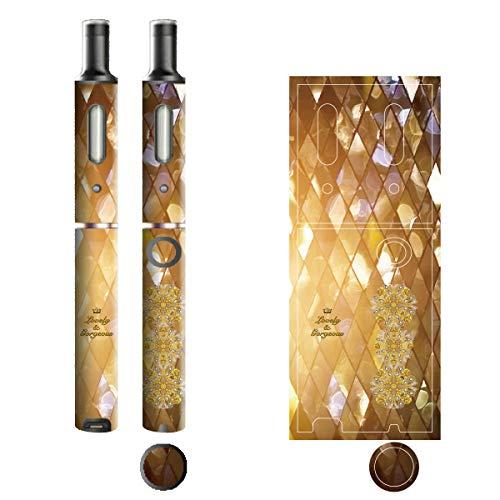 電子たばこ タバコ 煙草 喫煙具 専用スキンシール 対応機種 プルームテックプラスシール Ploom Tech Plus シール Lovely & Gorgeous 06グリッター 22-pt08-ca0325