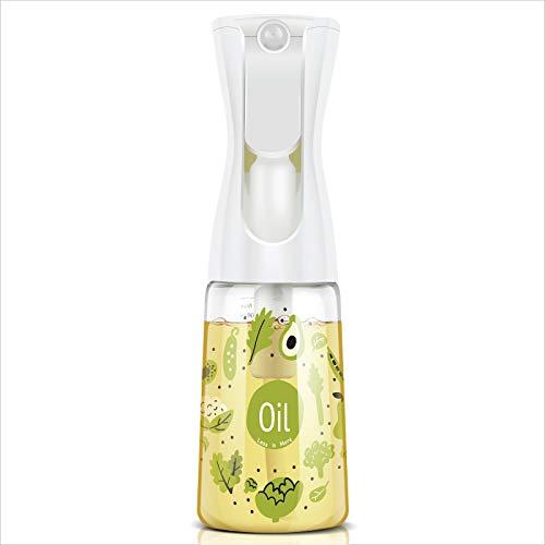Mistifi Oliver Oil Sprayer for cooking, Spray bottle 6oz, Non-Aerosol Refillable Dispenser Oil Mister FS601 Green Vegetable