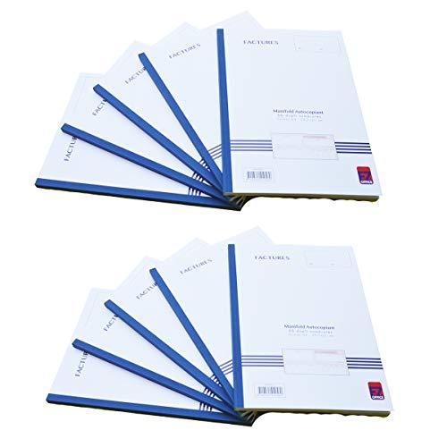 Manifold factuur met gespecificeerde btw. Dupli A4 Afmetingen: 210 x 297 mm / 21 x 29,7 cm Footation 50 vellen, zelfdoorschrijvend EZ Office