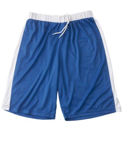 Short Basketball 100% polyester pour homme de taille Small de couleur Bleu - Visiodirect -
