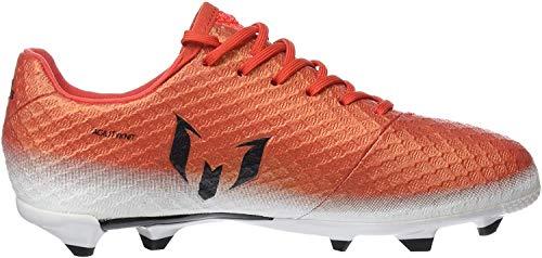 adidas Messi 16.1 Fg J, Scarpe da Calcio Unisex – Bambini, Rosso (Red C Ore Blackfootwear White), 35 EU