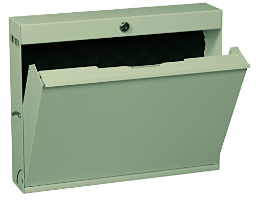 Datum Storage Intellerum LapTop Locker with Keyed Lock, Tan Metallic