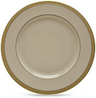 Lenox Lowell Gold Banded Ivory China Dinner Plate by Lenox