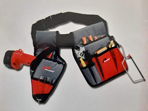 Werkzeuggürtel verstellbar von 90 bis 120 cm mit Tasche und Bohrholster Plano Techninc Line 599TX