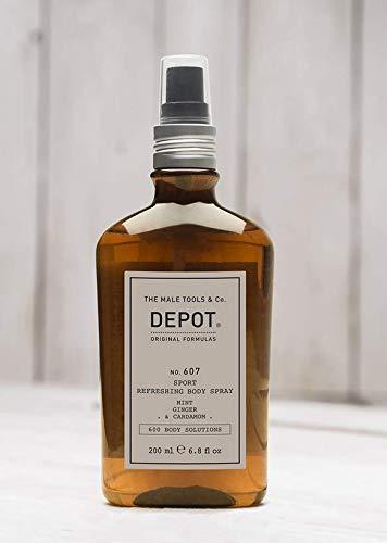 DEPOT NO.607 SPORT REFRESHING BODY Spray Mint Ginger & Cardamom 200ml