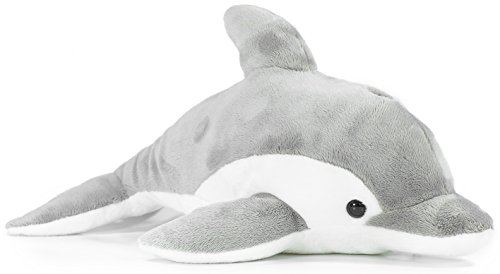 VIAHART Dorian The Dolphin | 11 Inch Dolphin Stuffed Animal Plush | by Tiger Tale Toys
