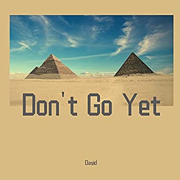 Don't Go Yet