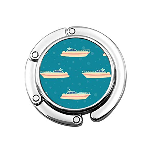 Boot Schiff Fluss Ozean Transport Handtasche Kleiderbügel für Tisch Tisch Geldbörse Kleiderbügel Haken einzigartige Designs Folding Abschnitt Lagerung Geldbörse Kleiderbügel für Mädchen