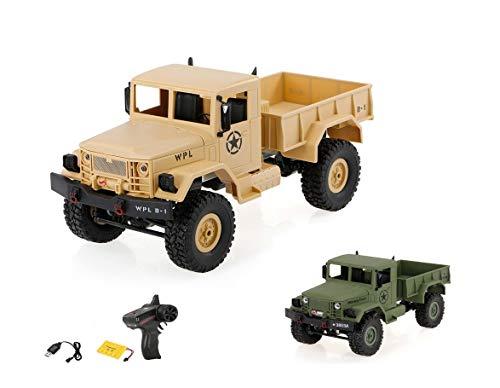 HSP Himoto 2.4GHz RC Ferngesteuerter 4WD Off-Road Militär Army Truck Crawler Fahrzeug Transporter, Komplett-Set RTF