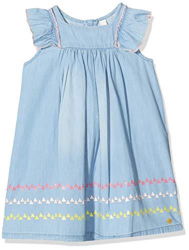 Esprit Kids Mädchen Denim Dress Kleid , Blau (Blue Light Wash 415 RN3403303) , 116/122 (Herstellergröße: 6-7 Jahre)