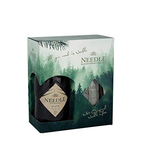 Needle Geschenkverpackung Wald (0,5 Ltr. + 1 Glas)