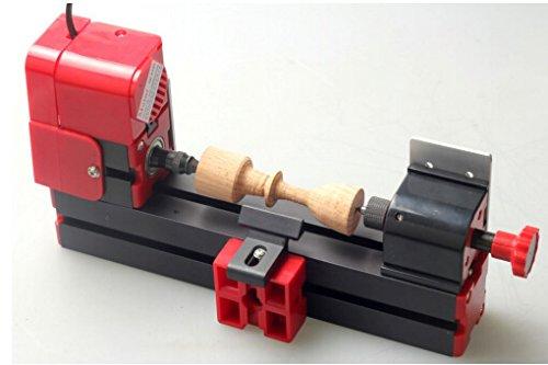Update Mini Wood-Turning Lathe Machine Wood Engraving Machine 20000r/min