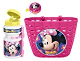 Stamp K862508 - Cestino + Campanello Minnie, Colore: Rosa