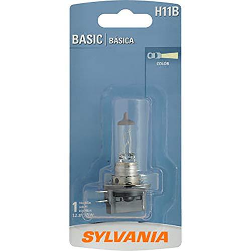 SYLVANIA H11B.BP N/A H11B Basic Halogen Headlight Bulb, (contains 1 Bulb), 1 Pack