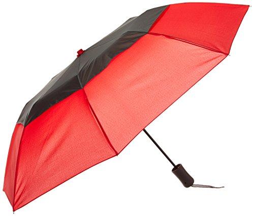 STROMBERGBRAND UMBRELLAS Belüftete Graphitkrone, rot (Rot) - SB-1420-Red