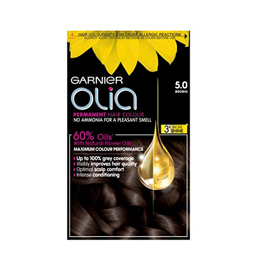 Garnier Olia Permanent Hair Colour 5.0 Brown