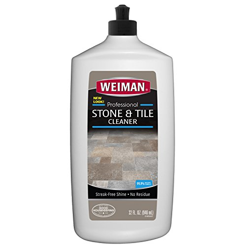 Weiman Stone Tile and Laminate Cleaner - 32 Ounce - Professional Tile Marble Granite Limestone Slate Terra Cotta Terrazzo and More Stone Floor Surface Cleaner