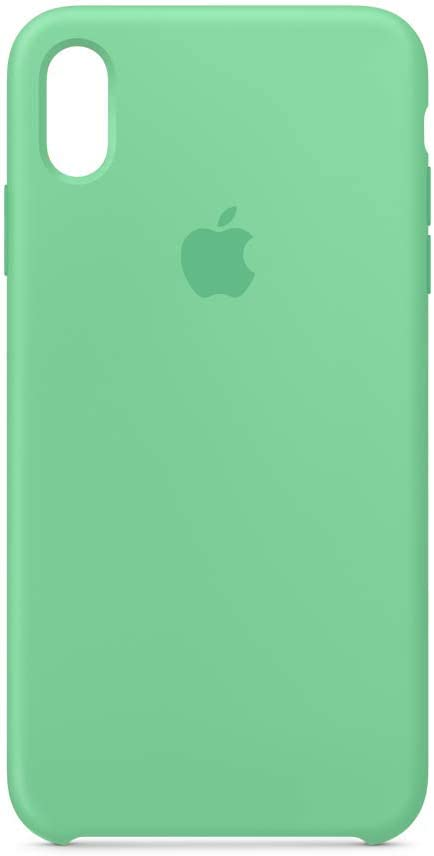 Apple Silicone Case (for iPhone Xs Max) - Spearmint