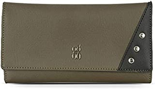 Baggit Women's Synthetic Wallet (Green) (Apsara Y G X)