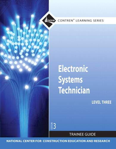 Electronic Systems Technician Level 3 Trainee Guide, Paperback (Contren Learning)