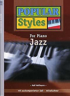 Jazz – Arreglos para piano [Notas / Partitura] de la serie: POPULAR STYLES FOR PIANO 3