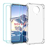Ytaland for Nokia G20 / G10 Case, with 2 x Tempered Glass