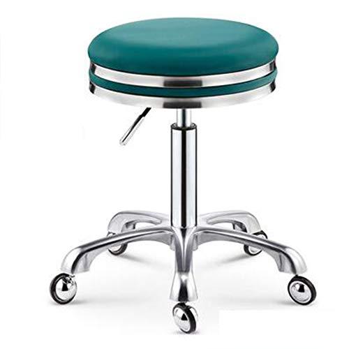 CANDYANA lift barkruk draaistoel werkstoel Beauty Stool Cut Stool Kruk Nail Stool Makeup Chair, Groen