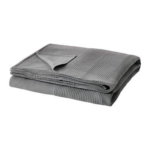 IKEA Indira Tagesdecke Grau 103.890.76 Größe: 9...