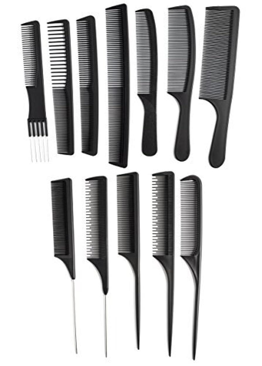 ドアミラー稼ぐ非難するOneDor Professional Salon Hairdressing Styling Tool Hair Cutting Comb Sets Kit [並行輸入品]
