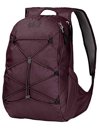 Jack Wolfskin Damen Savona Outdoor Daypack Rucksack, Burgundy, ONE Size