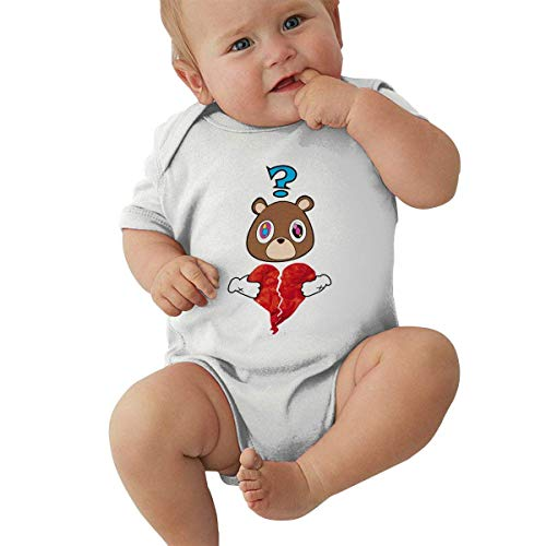 shenguang Kanye West Baby Jersey Boy Girl Bodysuit Funny Baby Short Sleeve Jumpsuit