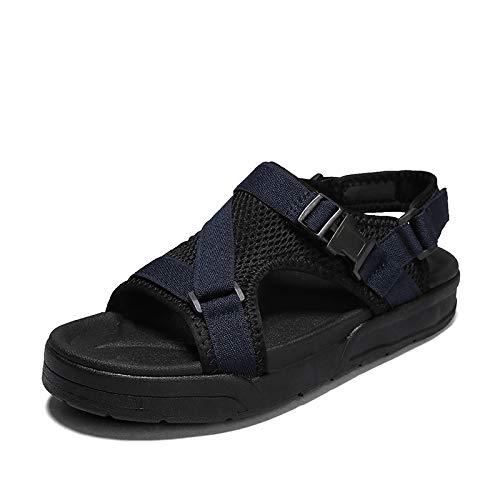 XYAL0003001 Xingyue Aile Slippers & Sandalen Outdoor Mode Zomer Sandalen Voor Mannen, Gesp Up Doek Haak & Loop Band Anti-Slip Slipper, Open teen Verstelbare Strandschoenen