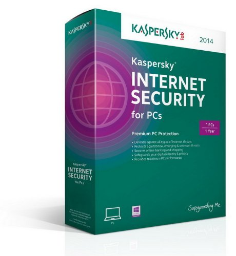 Kaspersky Internet Security 2014 - 1 User - 1 Year [import anglais]
