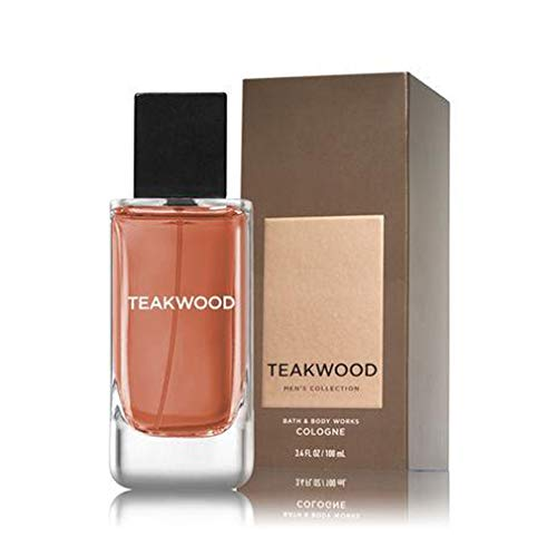 Teakwood by Bath and Body Works for Men - 3.4 oz Cologne Spray