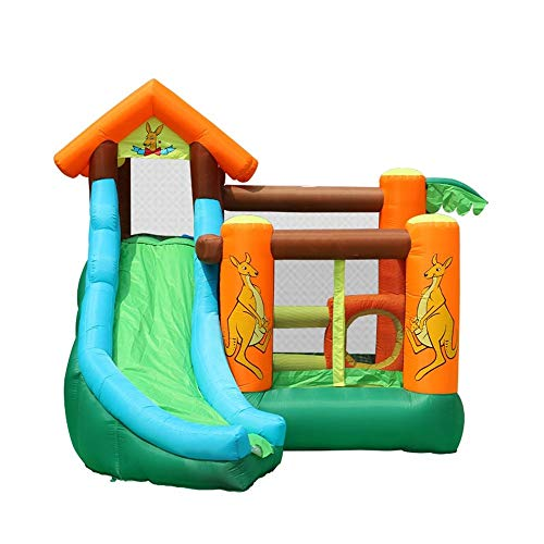 Best Bargain Playhouse Jumping Castle Inflatable Bouncy Castle Kids Trampolines Castle Jumping Castl...