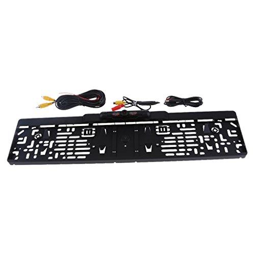MagiDeal Auto Nummernschild Kennzeichen Halter Rückfahrkamera, 170° Grad Erfassungswinkel, IP 68 wasserdicht und staubdicht, infrarot Nachtsicht Funktion