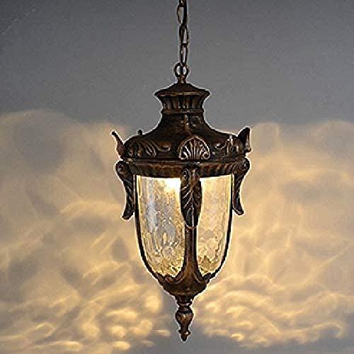 1 luz Lámparas Colgantes de Hierro Industrial para Exteriores Lámparas de decoración de Loft Lámparas de iluminación Lámpara Colgante Sala de Estar Comedor Patio al Aire Libre Villa Araña para po