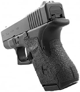 TALON Grips for Glock 26,27,28,33,39 (Gen4 No Backstrap) Black Rubber - 116R W/Free Sticker - Johnson Enterprises, LLC