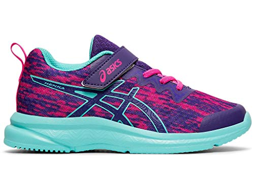 ASICS Kid's Soulyte PS Running Shoes, K13M, Gentry Purple/ICE Mint