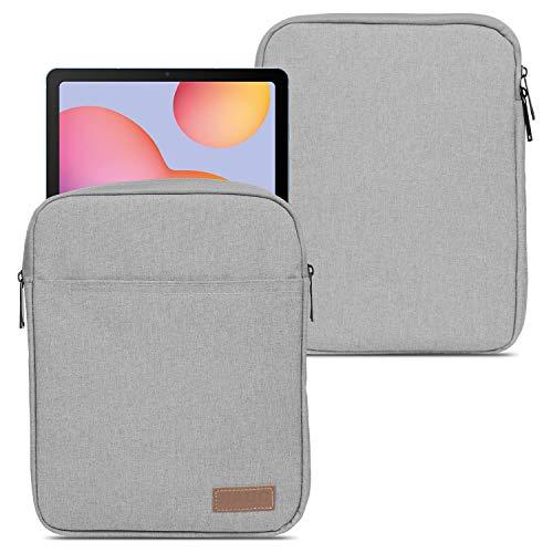 NAUC - Funda para Samsung Galaxy Tab S7 de 11 pulgadas, color gris y negro