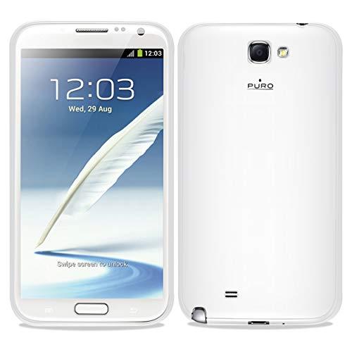 Puro PUFM221 - Funda minigel para Samsung Galaxy Note 2, color transparente