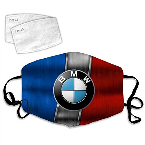 B-m-w Logo 20 Mundschutz, Sturmhaube, Masken, Staubdichter Schal,Gesichtsmaske Bedruckte Staubmaske Schal Turban wiederverwendbar schwarz