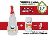 CULTIVERS Insecticida contra La Araña Roja ecológico de 250 ml para Plantas de Interior y Exterior. Acción por Contacto