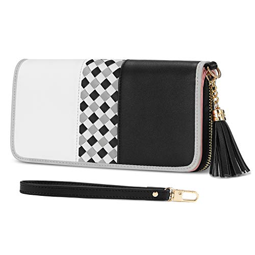 Ladies Purse, Jocose Moose Women's Wallet with Multiple Card Slots and Roomy Compartment