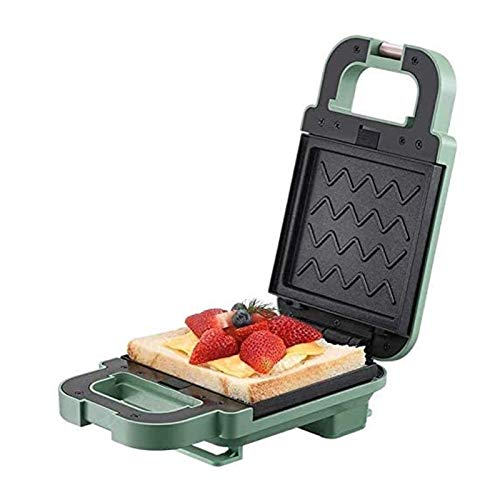 YFGQBCP Tostadora queso a la parrilla sandwich fabricante waffle hierro con placas removibles 600w fabricante de sándwich eléctrico waffle fabricante de waffle máquina de desayuno tostadora para horne