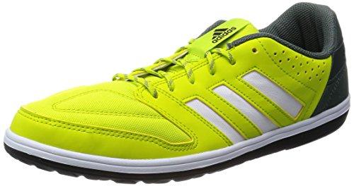 adidas Freefootball Janeirinhasala, Botas de fútbol para Hombre, Amarillo-Gelb (Semi Solar Yellow/FTWR White/Core Black), 44 2/3 EU