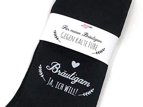 Hochzeit Geschenk SockenGegen kalte Füße für den Bräutigam